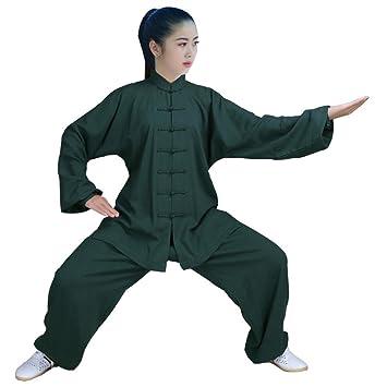 Amazon.com: zooboo Womens Kung Fu Artes Marciales ropa tai ...