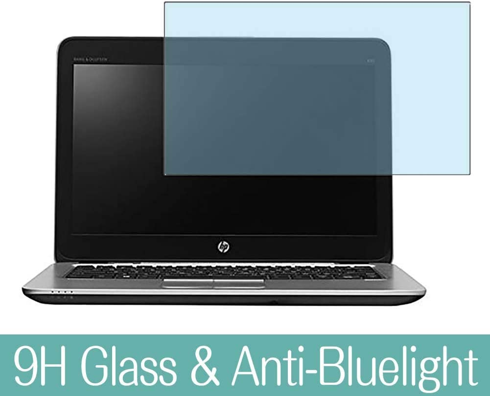 "Synvy Anti Blue Light Tempered Glass Screen Protector for HP EliteBook 820 G3 CT 12.5"" Visible Area 9H Protective Screen Film Protectors"