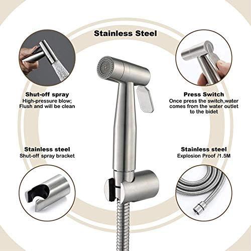 CLJ-LJ キットのトイレビデ便器洗浄ランスステンレス鋼ビデ蛇口シャワーホース耐久性に