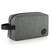 GAGAKU Bolsa de Aseo Grande Neceser Dopp Kit Impermeable Neceser de Viaje para Hombre Bolsa de Cosmético