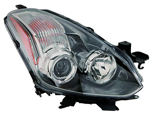 Depo 315-1176R-AF7 Headlight Assembly (NISSAN ALTIMA COUPE 10-13 HALOGEN PASSENGER SIDE (Passenger Side Headlight Assembly Coupe)