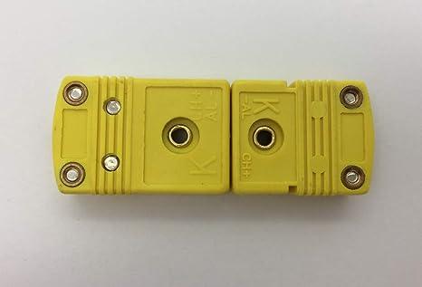 MICC 200 centigrade k Type Omega Plug thermocouple Connector