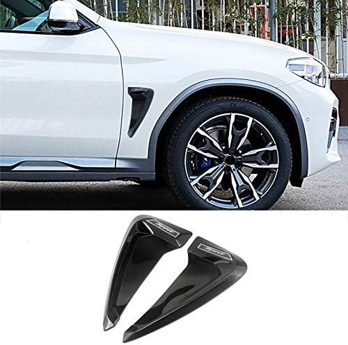 Seitenentl/üftungsdeckel Kotfl/ügelentl/üftungsaufkleber Dmwfaker Air Flow Fender Motorhaube Lufteinlaesse Aufkleber,f/ür BMW X1 X2 X3 X4 X5 F10 F30 e46 Z4 X6