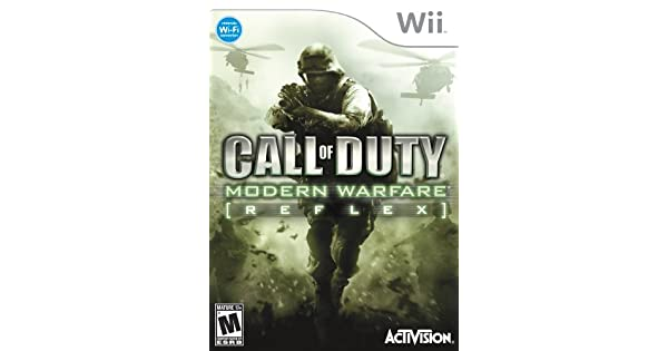 call of duty modern warfare reflex edition wii review