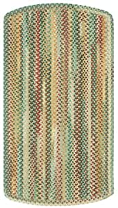 "8' x 11' Rectangular Tailored Made-to-Order Capel Area Rug 0980US08001100150 Amber Color Hand Braided in USA ""Sherwood Forest Collection"""