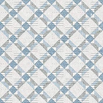 Nais - Baldosas cerámicas para suelos - Colección Area15 - Color Lattice Blue (15x15 cm) - Caja de 1 m2 (44 piezas): Amazon.es: Bricolaje y herramientas
