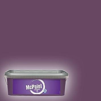 Mcpaint Bunte Wandfarbe Matt Deep Violet 25 Liter Innenfarbe In