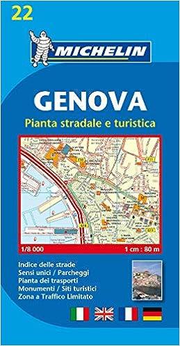 Plano Genova: pianta stradale e turistica Planos Michelin: Amazon.es: Michelin: Libros en idiomas extranjeros