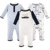 Hudson Baby Unisex Baby Cotton Coveralls, Classic