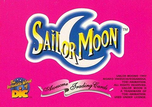 - SAILOR MOON SERIES 1 1997 DART PROMO CARD NO NUMBER BUSINESS CARD