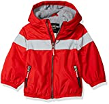 Osh Kosh Baby Boys Midweight Active Fleece Lined Jacket, Red, 12M