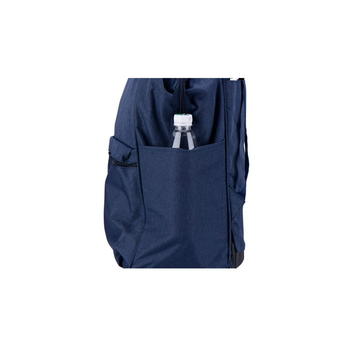 Color : Blue Handbag Soft Bag Travel Organizer Carrying Bag Blue Bahaowenjuguan Trolley case Suitcase