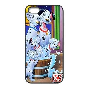 Happy 101 Dalmatians Case Cover For iPhone 5S Case