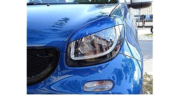 Embellecedores para faros de mal de ojo Midnight, azul claro, ABE inteligente: Amazon.es: Coche y moto