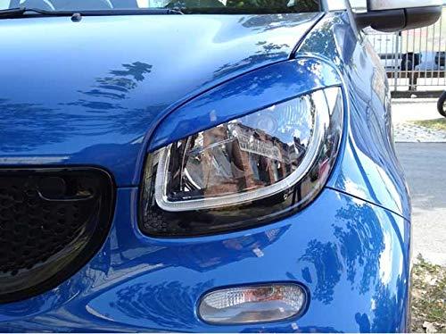 Scheinwerferblenden B/öser Blick midnight blau blue smart ABE