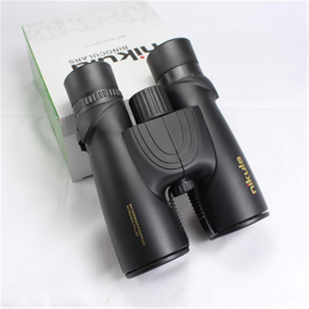 Teolhensot 10X42 Binoculars New Professional Nitrogen Waterproof Telescope Powerful Bak4 Night Vision Hunting Scope Military Compact nikula 10x42 by Teolhensot