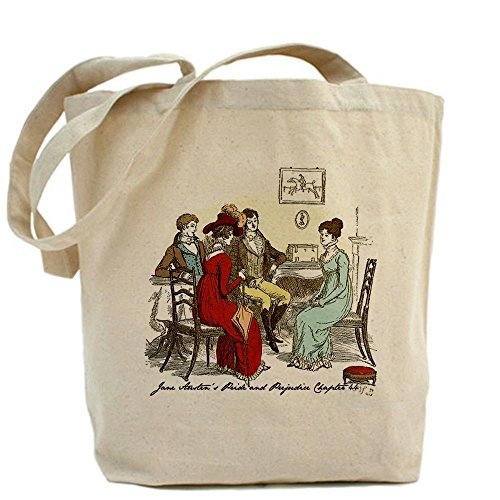 CafePress Pride Pride Prejudice CH 44 Tote Bag – Standard Multi-color da CafePress