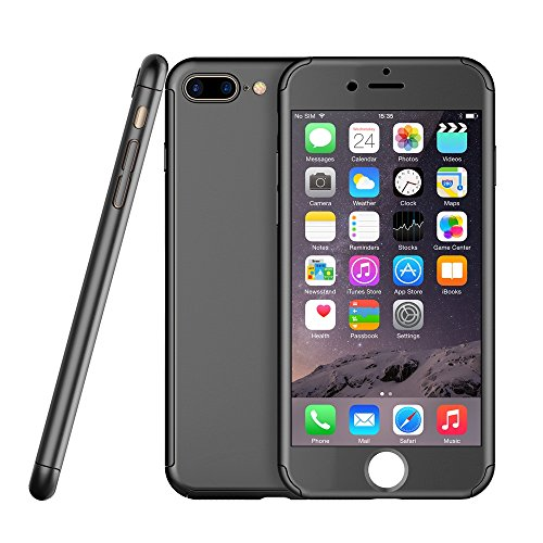 iPhone 7plus case with screen protector by Egrace