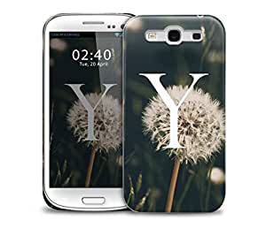 letter y Samsung Galaxy S3 GS3 protective phone case