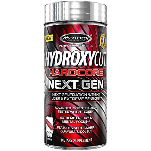 MuscleTech Hydroxycut Hardcore Next Gen Supplement, 100 Coun