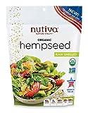 Nutiva Organic Raw US Grown Shelled Hempseed from non-GMO Sustainably Farmed Hemp, 10-ounce Review