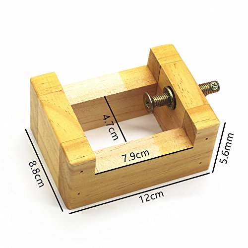 Weichuan wooden mini bench vice clamp wood carving