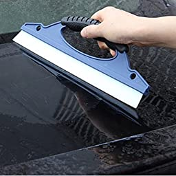Pro Silicone Car Window Wash Cleaning Brush Cleaner Wiper Squeegee Drying Blade