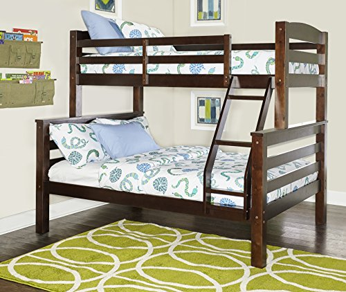 Powell Bunk Bed, Twin/Full, Espresso