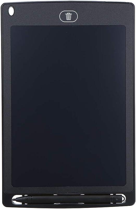 Tickas 8.5インチ液晶デッサンタブレットポータブルデジタルパッドライティングメモ帳電子グラフィックボードメモリマインダーフォント太字のスタイラスペン(黒)