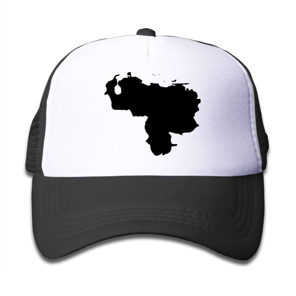 Venezuela Map Toddler Vintage Adjustable Mesh Baseball Cap