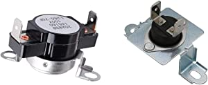Ecumfy 137032600 Thermal Limiter and 3204267 Dryer Safety Thermostat Compatible with Frigidaire Electrolux Dryer Replaces PS2349395 AP2131477 PS446428
