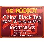 Foojoy China Black Tea - 100 Tea Bags 4 Foojoy China Black Tea Fresh tea leaves are carefully fermented to create a mellow tasting tea with an attractive reddish infusion 100 Tea Bags