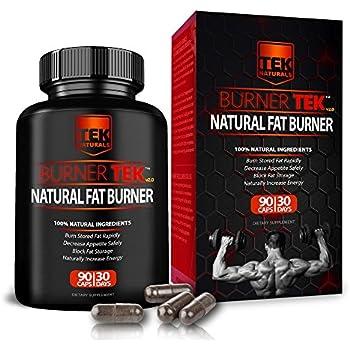 BurnerTEK™ All Natural #1 Rated Fat Burner - 12 Fat Burning Ingredients, 90 Pills, 30 Day Supply - Lose Weight, More Energy & More Stamina (1)