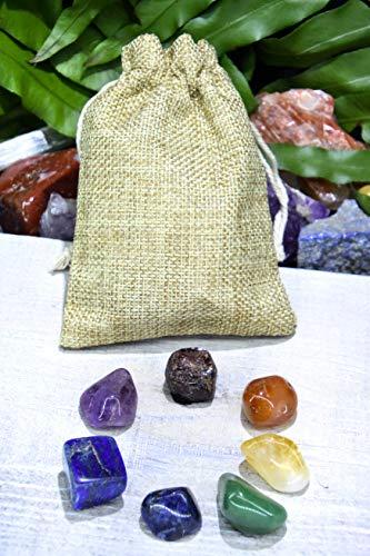 7 Chakra Crystals Gemstones Kit 7 Chakra Crystals Set Rocks Healing Crystals Gemstones 7 Chakra Stones Crystals Healing Set 7 Chakra