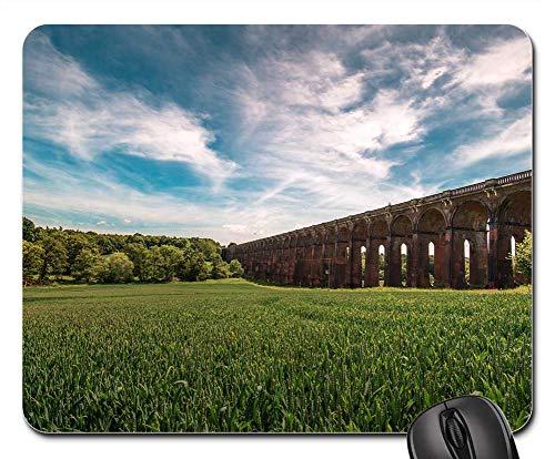 Mouse Pads - Bridge Viaduct Sky Railroad Architecture Outdoor