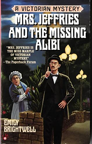 book cover of Mrs Jeffries and the Missing Alibi