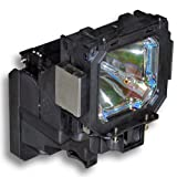 Original Bulb and Generic Housing for Eiki POA-LMP116 Replace 610 335 8093, EKKV-116, POA-LMP116 Projector Lamp