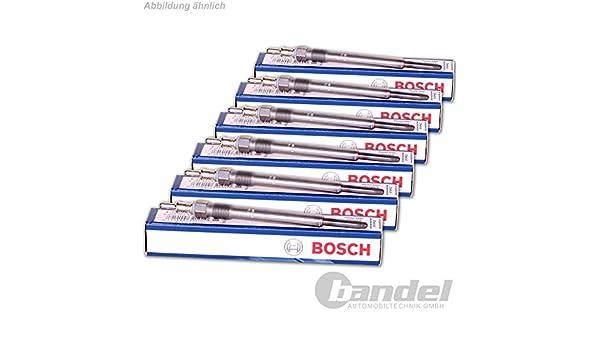 6 x Original Bosch 0250403008 Bujía de precalentamiento: Amazon.es: Coche y moto