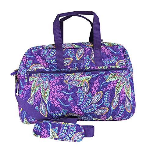 Vera Bradley Grand Traveler Bag, Batik Leaves