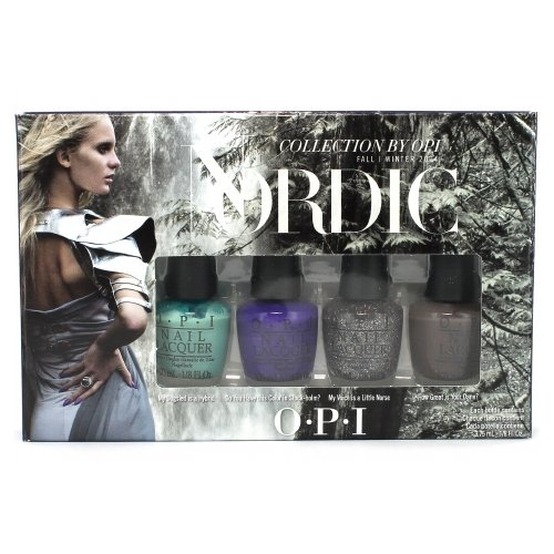 OPI Collection Nordic Pack Mini Nail Lacquer 4 comte