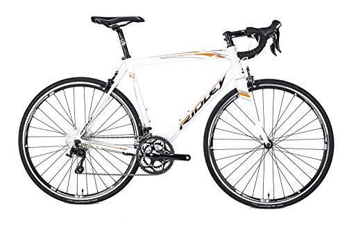 Ridley Fenix Alloy 105 FE701CS Bike with Safety Reflectors, White, 50 cm/X-Small