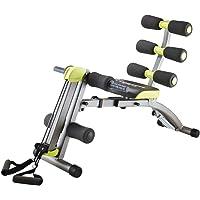Wonder Core II: Equipo de fitness multifuncional 12 en 1 | Ejercitador de sentadillas – Diseño ergonómico – Estiramiento más allá de 180° y 360° en torsión