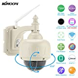 KKmoon 3.5' H.264 HD 720P 2.8-12mm Auto-focus PTZ Wireless WiFi IP Camera Security CCTV Camera Home Surveillance
