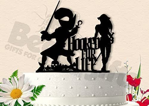 pirate ship wedding cake topper pirate hooked for captain hook 18617