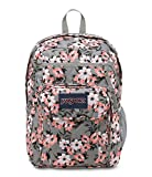 JanSport Backpack Digital Student Laptop Backpack - CORAL PRETTY POSEY Deal