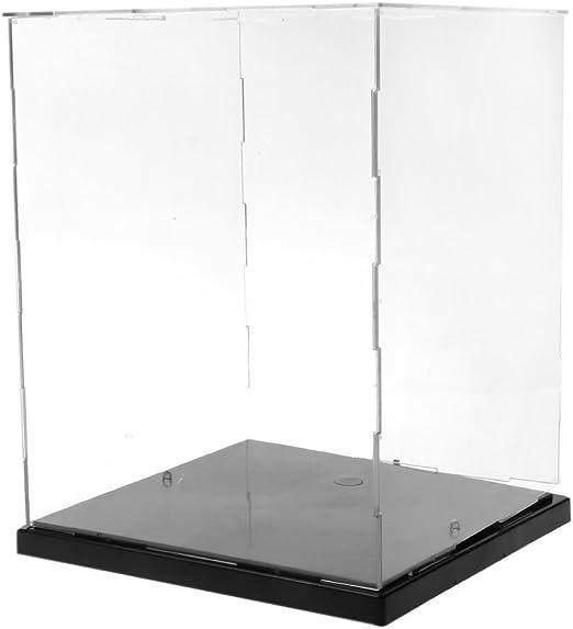 SimpleLife Vitrina/Caja de acrílico, colectores a Prueba de Polvo ...
