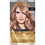 L'Oréal Paris Superior Preference Fade-Defying + Shine Permanent Hair Color, 7RB Dark Rose Blonde, 1 kit Hair Dye