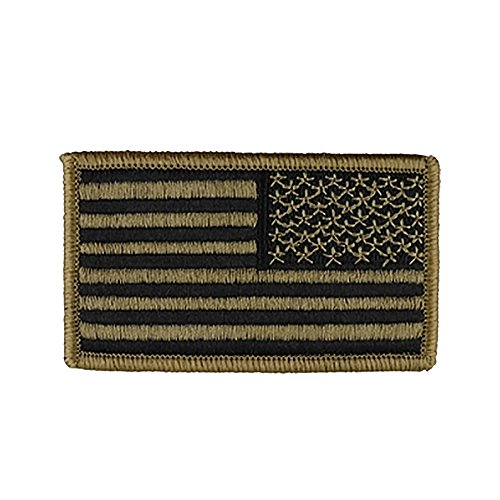 US Army Flag Patches (OCP Tactical With Hook Fastener) (Insignia Patches Army)