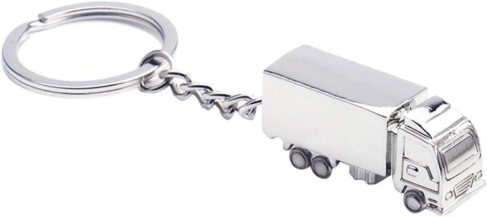 Bestoyard Lkw Form Schlüsselanhänger Ringe Legierung Schlüsselanhänger Handtasche Decor Mini Lkw Hängen Anhänger Für Handtasche Tasche Schlüsselanhänger 5 Stücke Spielzeug