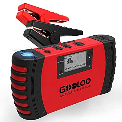 GOOLOO Jump Starter with Quick Charge 3.0
